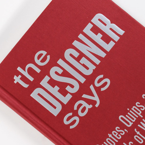 The Designer Says | Matmi Staff finds... | Scoop.it