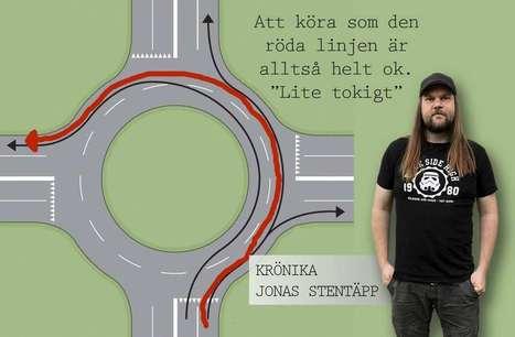 Stentäpp: Idiotisk rondellkörning - och tydligen är det lagligt också | Krylbo en del av europa | Scoop.it