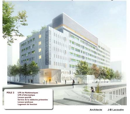 Permis de construire ANNULÉS pour deux bâtiments de Paris-VII déjà construits | The Architecture of the City | Scoop.it