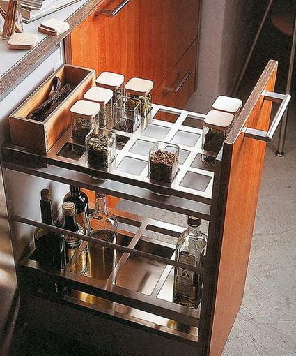 57 Practical Kitchen Drawer Organization Ideas | Shelterness | Kitchen Design - Functional Ergonomics | Scoop.it