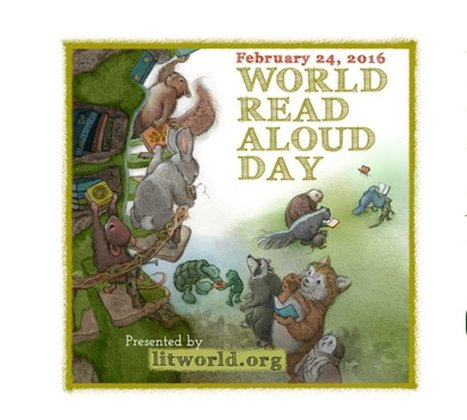 World Read Aloud Day is on Feb. 24th - Here are related resources | ELT resources designed for building EFL-ESL lessons & courses | Scoop.it
