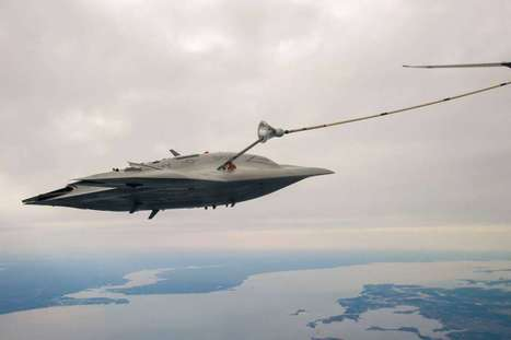 Watch This Autonomous Drone Eat Fuel In The Sky | Post-Sapiens, les êtres technologiques | Scoop.it