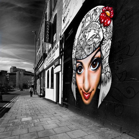 "25 Beautiful Street Art Photos | ""Cameras, Camcorders, Pictures, HDR, Gadgets, Films, Movies, Landscapes"" 