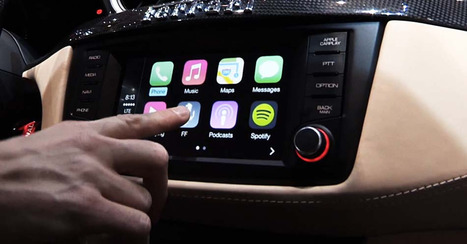 Watch Apple CarPlay in Action | digital mentalist  and cool innovations | Scoop.it