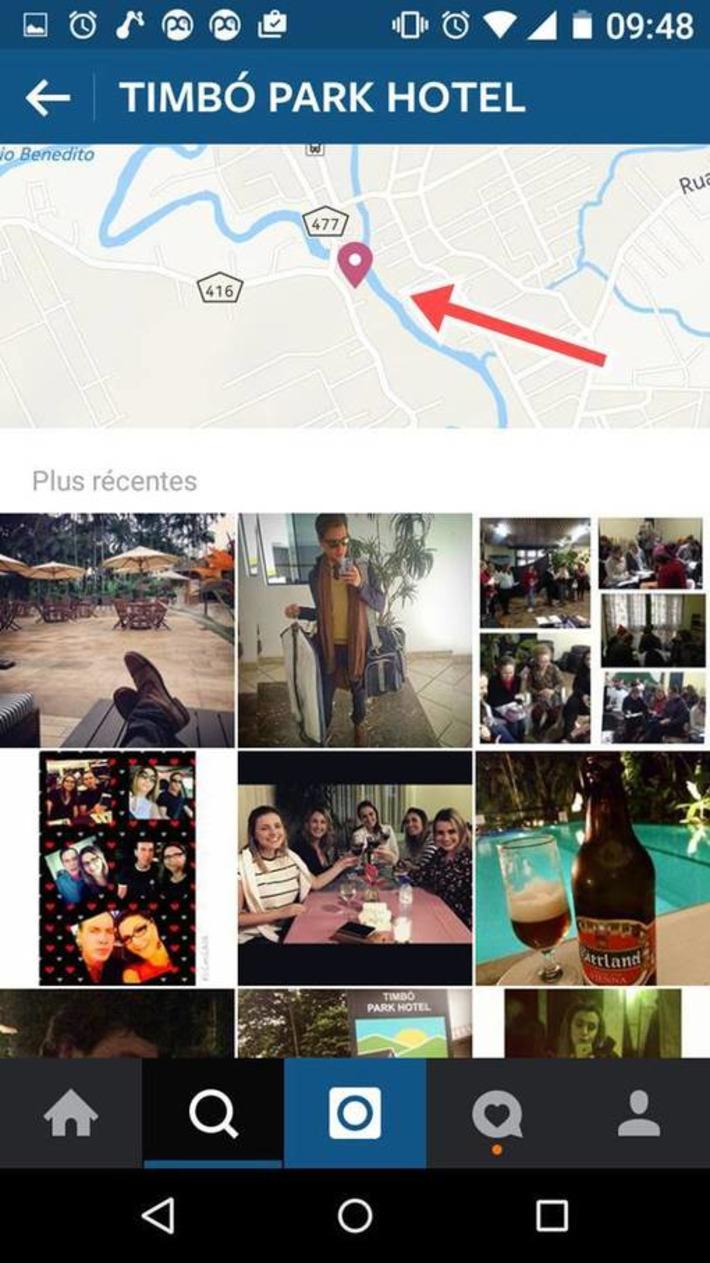 Recherche de lieu sur instagram | TIC et TICE mais... en français | Scoop.it