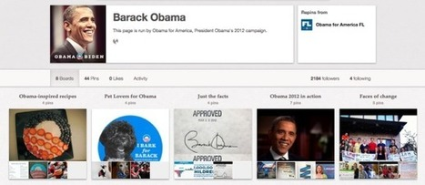 President Obama adds Pinterest to his social networks | Technoculture | Scoop.it