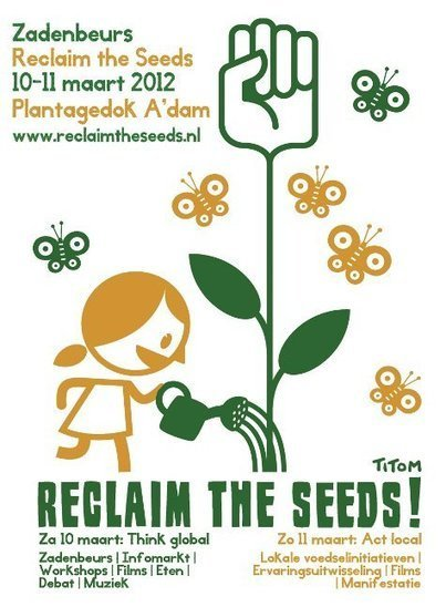 'Reclaim the Seeds' zadenbeurs in Amsterdam | Eetbare Stad | Scoop.it