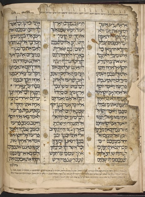 The British Library and National Library of Israel Announce Partnership to Digitize Hebrew Manuscripts | Library Collaboration | Scoop.it