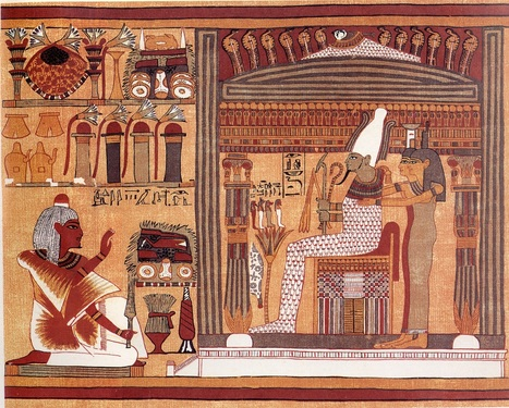 An Interpretation of the Ancient Egyptian Concept of Death and Dying - HeritageDaily   Art Education   Scoop.it