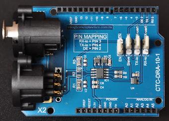 DMX Shield for Arduino | DMX Shields for Arduino | Scoop.it