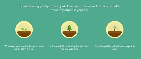 Accro à votre smartphone ? Forest est là pour vous désintoxiquer ! - Blog du Modérateur | veille de geek | Scoop.it