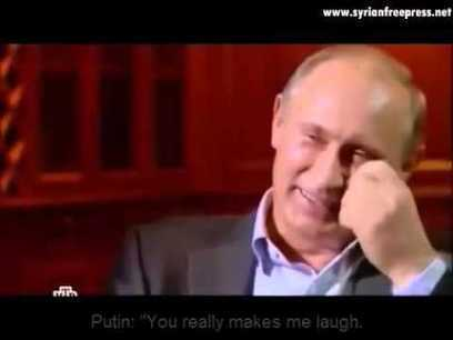 Putin laughs in face of a journalist (ENG subtitle) about the anti missile system | Saif al Islam | Scoop.it