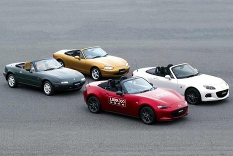 Mazda MX-5 : le million ! | Auto , mécaniques et sport automobiles | Scoop.it