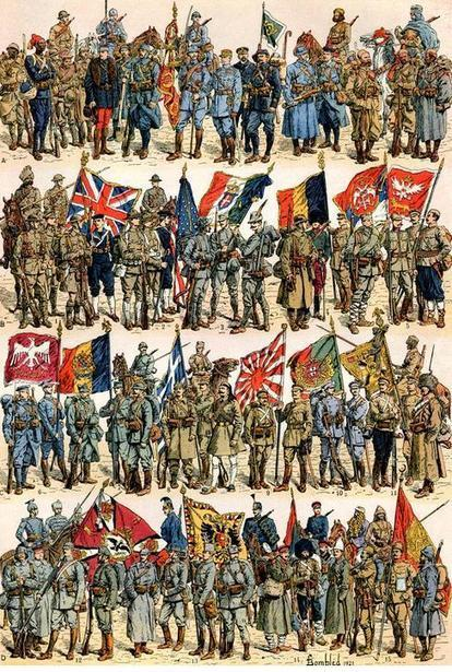 Site du jour (220) : Les uniformes de la Grande Guerre | CGMA Généalogie | Scoop.it