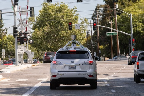 Google self-driving cars clock 700,000 miles as firm tames city streets | IT helps the environment and science | Scoop.it