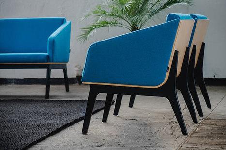 Sofy i fotele Fin - klasyczne meble - ponadczasowy design | Office furniture | Scoop.it