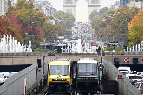 Paris Metro chiefs back introduction of driverless Tube trains to London | Urban Public Transportation of tomorrow | Scoop.it