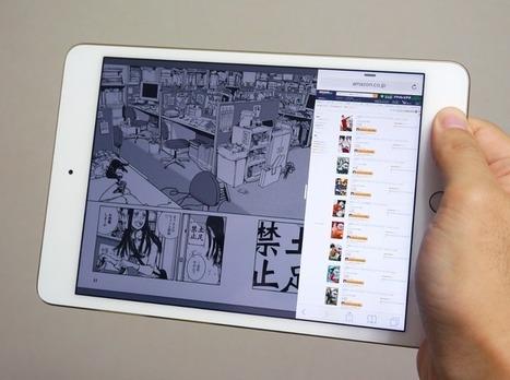 Live Japon : livre numérique, du manga surtout   Djébalé   Scoop.it