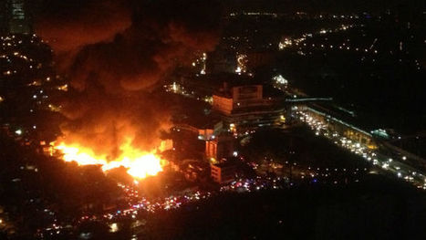 At least 500 houses destroyed in Makati City fire | fire | Scoop.it