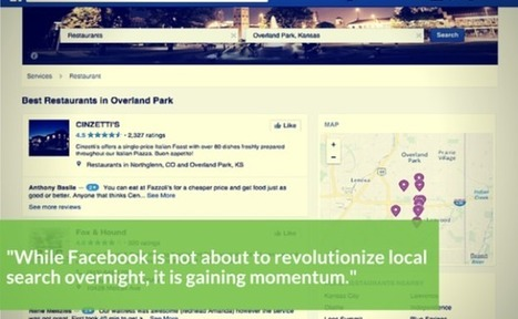 Facebook Gaining Local Search Momentum | Social Selling | Scoop.it