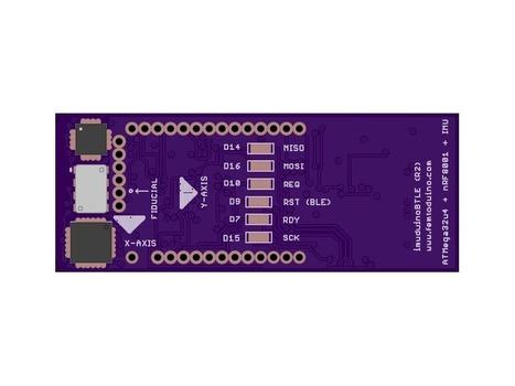 IMUduino BTLE, The smallest wireless motion sensing Arduino clone. | Open Source Hardware News | Scoop.it