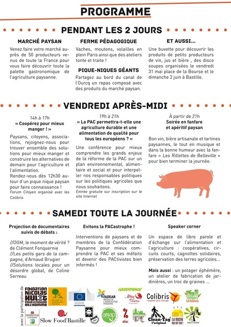 "Ferme à Paris – le programme | Macadam"" Seeds 