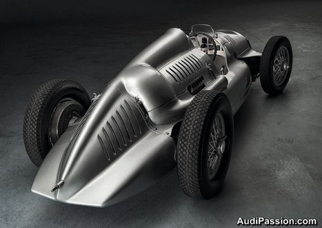 Audi-Passion - Retour aux origines: Audi rachète la dernière Flèche d'Argent Auto Union Type D à double compresseur | Historic cars and motorsports | Scoop.it