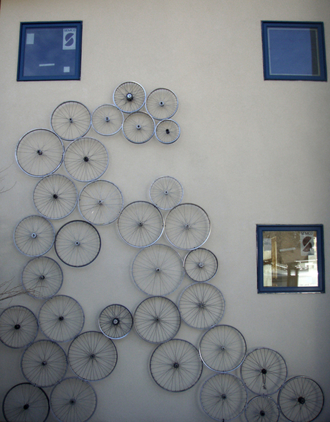 25 Ideas of How to Recycle Old Bicycles Wisely | DesignRulz | Interesting and Fascinating | Scoop.it