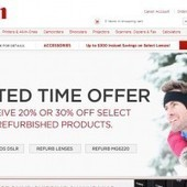 Act Fast: Canon Offering 20-30% off Select Refurb Gear   Videography   Scoop.it