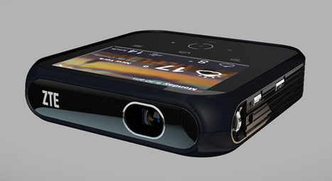 ZTE's Android-powered Projector Hotspot dishes out 1080p video ... | Android On Stick | Scoop.it