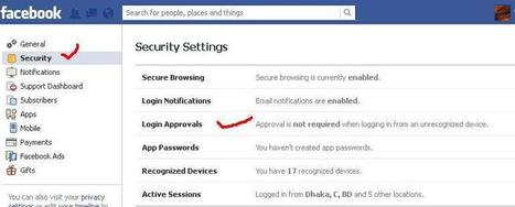 Live Technology : PROTECT YOUR FACEBOOK ACCOUNT FROM BEING HACKED | live technology | Scoop.it