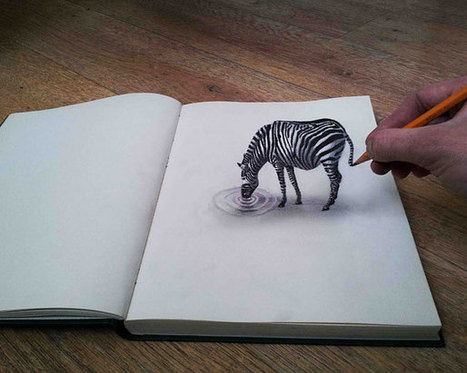 More 3D Pencil Drawings by Ramon Bruin | Inspired By Design | Scoop.it