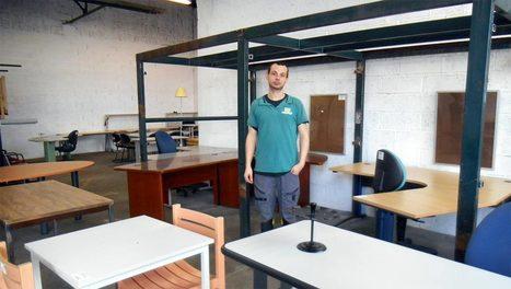 Nouvelle Vie : une seconde jeunesse pour le mobilier de bureau ! | Aménagement des espaces de vie | Scoop.it