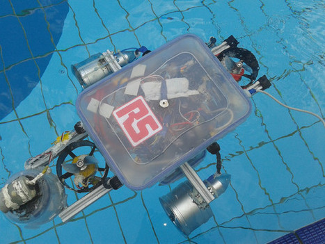 Raspberry Pi-powers DIY autonomous underwater vehicle - CNET | Raspberry Pi | Scoop.it