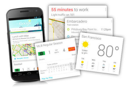 Google Now proche d'iOS | Geeks | Scoop.it