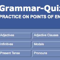 Grammar-Quizzes: Practice on Points of English Grammar | ESL Grammar Resources | Scoop.it