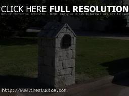 Exterior Design: Build Brick Mailbox With Classic Designs , brick mailbox designs, brick mailbox ~ TheStudioe | Home Design Ideas | Scoop.it