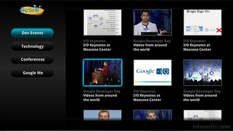 Google TV templates to tempt developers | Video Breakthroughs | Scoop.it