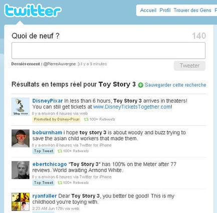 Les« tweets sponsorisés » visibles dans les résultats de recherche | Digital Marketing | Scoop.it