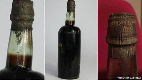 Bottle of 140-year-old Arctic Ale beer sells for £3,300 - BBC News | International Beer News | Scoop.it