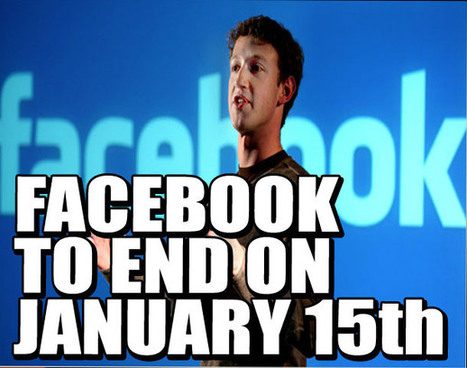FACEBOOK WILL END ON JANUARY 15th, 2013! | Weekly World News | facebook news | Scoop.it