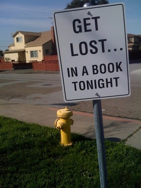 GET LOST... IN A BOOK TONIGHT | International Baccalaureate Program | Scoop.it
