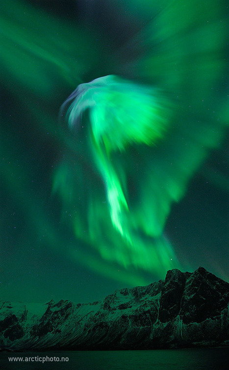 Amazing Aurora Over Norway | Geoprocessing | Scoop.it