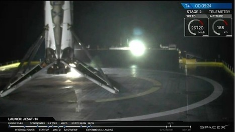 Falcon 9 succeeds in middle-of-the-night launch | Spaceflight Now | The NewSpace Daily | Scoop.it