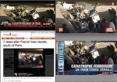 Brétigny: reprises hasardeuses de photos d'internautes | DocPresseESJ | Scoop.it