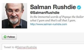 How Salman Rushdie Used Twitter to Defeat Facebook | Nymwars | Scoop.it