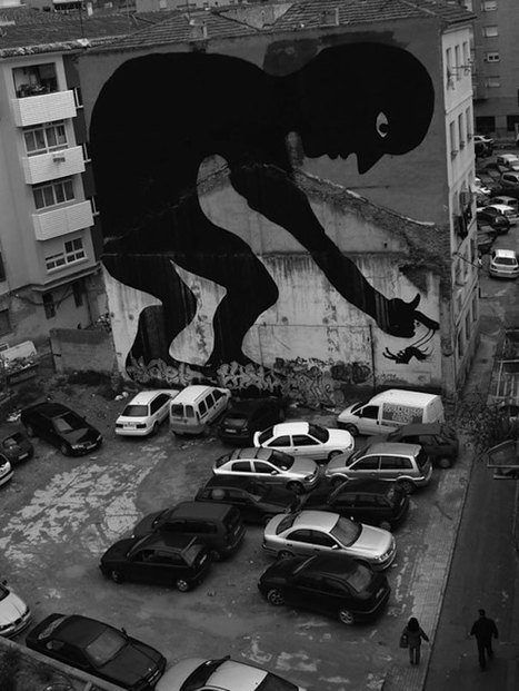 30 Amazing Large Scale Street Art Murals From Around The World | Street art news | Scoop.it
