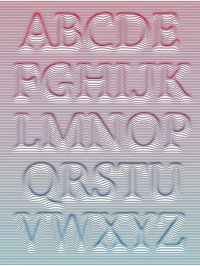 Parametric Typography – Daniel Davis | art et design | Scoop.it