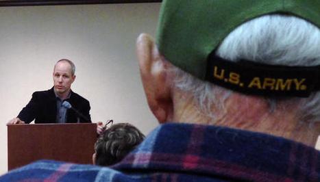 Author, veteran tells his story of PTSD - Burbank Leader   Veterans   Scoop.it