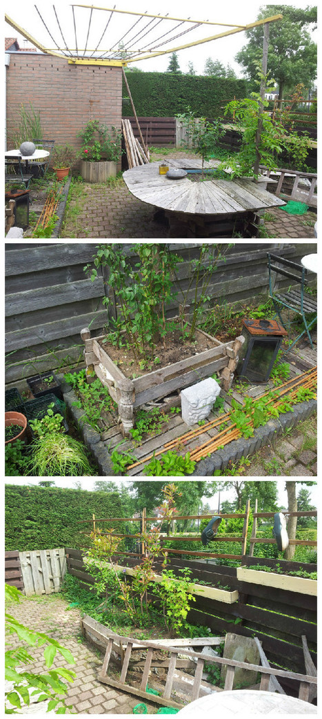 Garden Art With Recycled Pallets | Mipygreen | Scoop.it